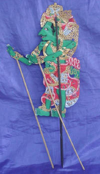 wayang shadow puppet from art export bali indonesia